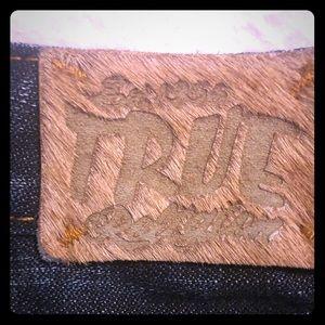 True Religion Mini skirt